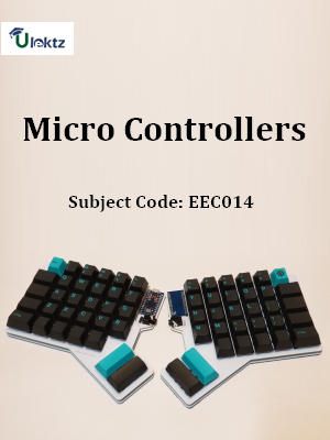 Important Question for Micro Controllers