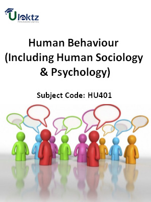 Important Question for Human Behaviour (Including Human Sociology & Psychology)