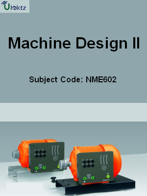 Important Question for Machine Design-II