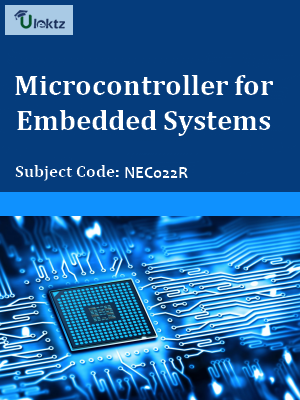 Important Question for Microcontroller for Embedded Systems