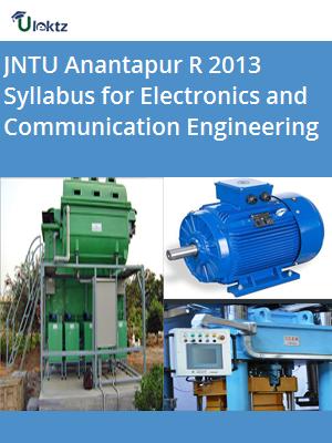 Syllabus for R 13 ECE JNTU- Anantapur