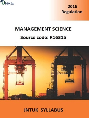 Management Science Syllabus