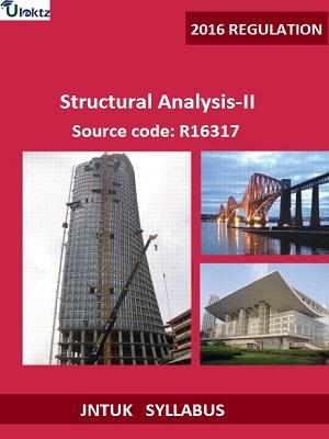 Structural Analysis – II Syllabus