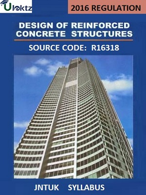 Design and Drawing of reinforced concrete structures Syllabus