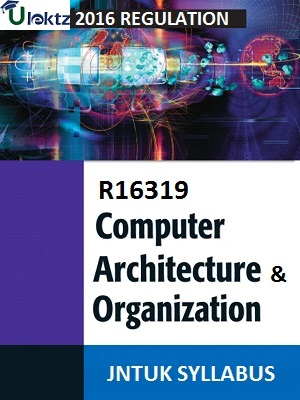 Computer Architecture And Organization Syllabus