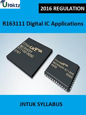 Digital IC Applications Syllabus