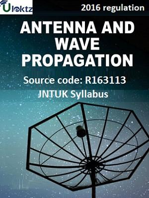 Antenna And Wave Propagation Syllabus