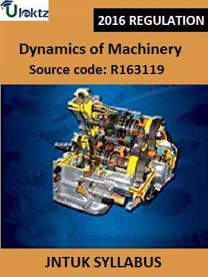 Dynamics of Machinery_Syllabus