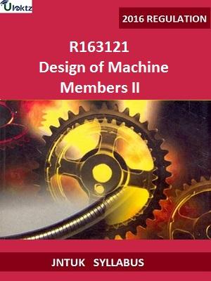 Design of Machine Members II_Syllabus