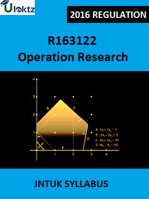 Operation Research_Syllabus
