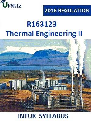 Thermal Engineering II_Syllabus