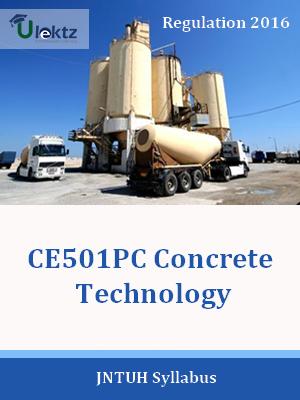 Concrete Technology_Syllabus