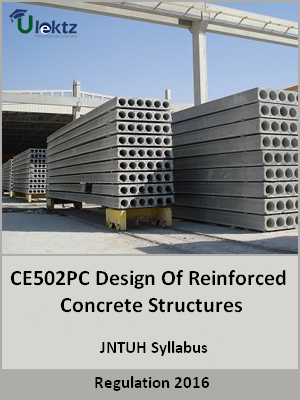 Design Of Reinforced Concrete Structures_Syllabus