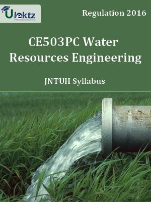 Water Resources Engineering_Syllabus
