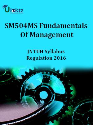 Fundamentals Of Management_Syllabus