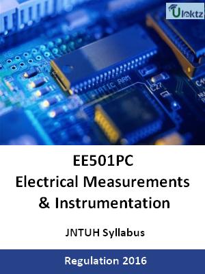 Electrical Measurements & Instrumentation_Syllabus