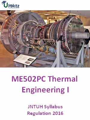 Thermal Engineering – I  _Syllabus