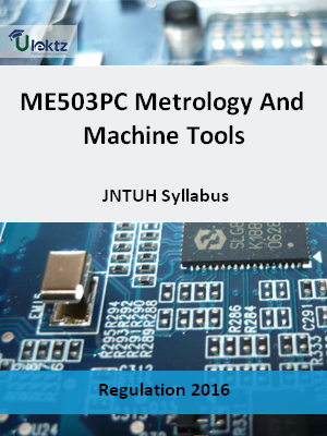 Metrology And Machine Tools _Syllabus