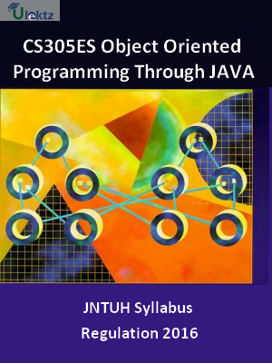 Object Oriented Programming Through JAVA_Syllabus