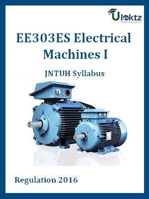 Electrical Machines I _ Syllabus