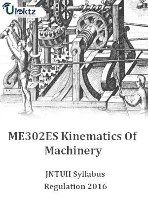 Kinematics Of Machinery_Syllabus