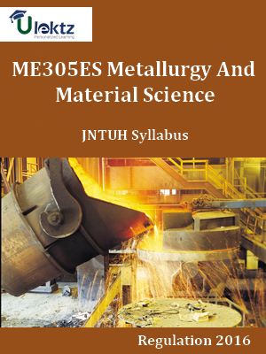 Metallurgy And Material Science_Syllabus