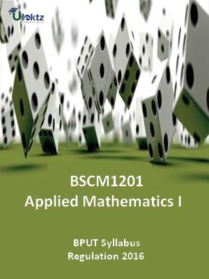 Applied Mathematics-I - Syllabus