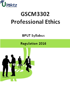Professional Ethics - Syllabus