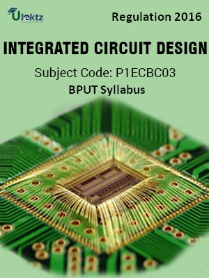 Integrated Circuit Design_Syllabus