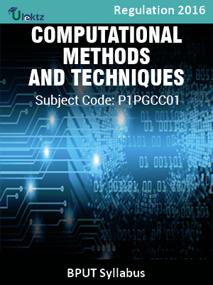 Computational Methods and Techniques_Syllabus