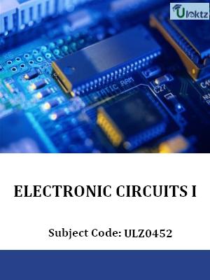 Electronic Circuits-I