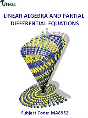 Linear Algebra and Partial Differential Equations