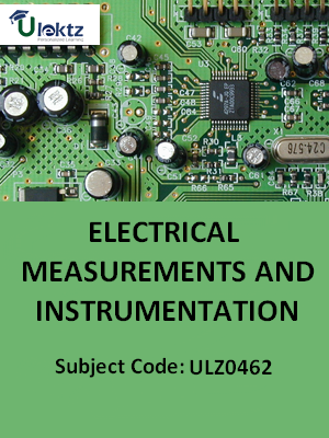Electrical Measurements & Instrumentation