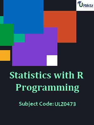 Statistics With r Programming