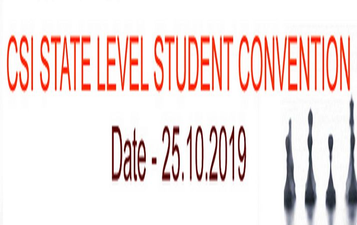 Csi State Level Student Convention 2019