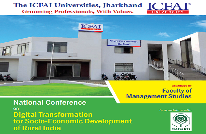 National Conference on Digital Transformation for Socio-Economic Development of Rural India
