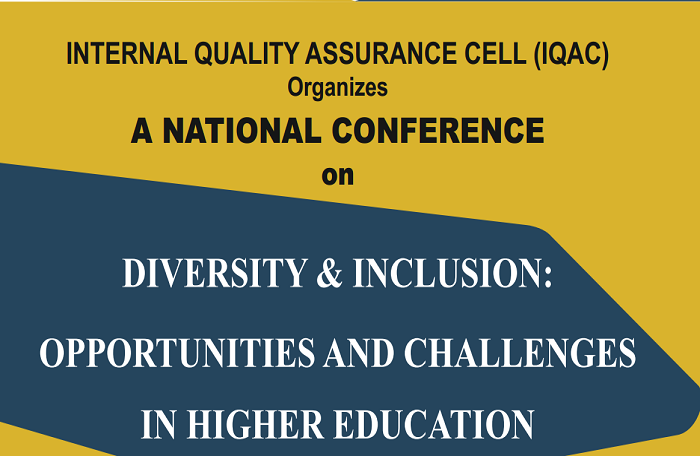 National Conference on Diversity & Inclusion: Opportunities and Challenges in Higher Education