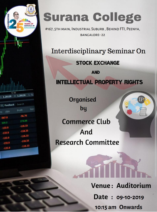 Interdisciplinary Seminar On Stock Exchange and Intellectual Property Rights