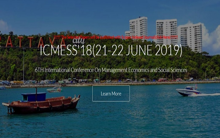 International Conference on Management, Economics & Social Science