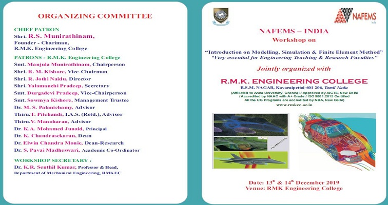 """Introduction on Modelling, Simulation & Finite Element Method"" ""Very essential for Engineering Teaching & Research Faculties"""