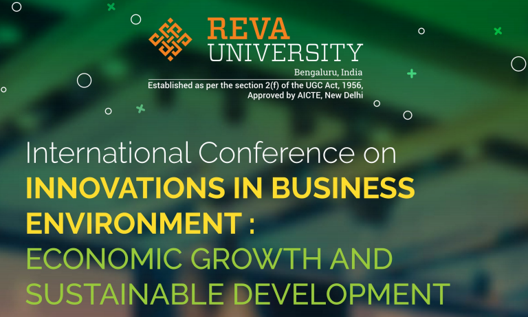 International Conference on Innovations in Business Environment: Economic Growth and Sustainable Development
