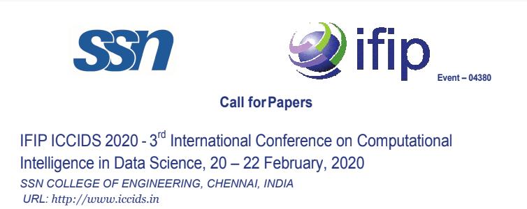 IFIP ICCIDS 2020