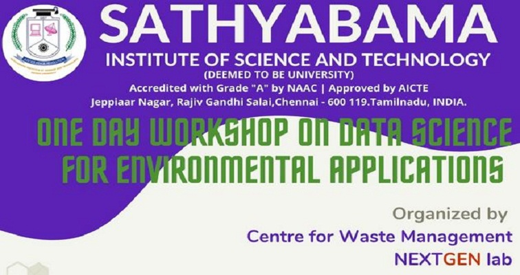 One Day Workshop on Data Science for Environmental Applications 2020