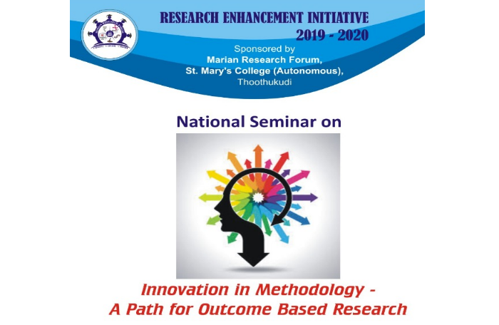 National Seminar on Innovation in Methodology - A Path for Outcome Based Research