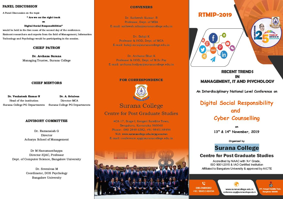 Digital Social Responsibility and Cyber Counselling