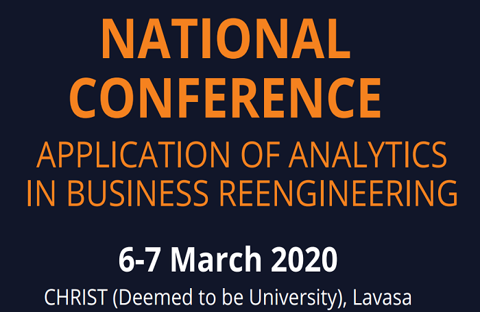National Conference Application of Analytics in Business Reengineering