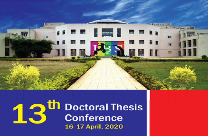 13th Doctoral Thesis Conference