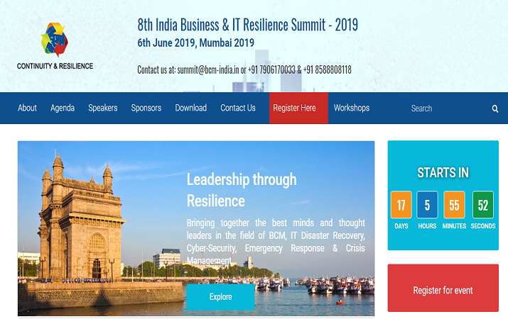 India Business & IT Resilience Summit