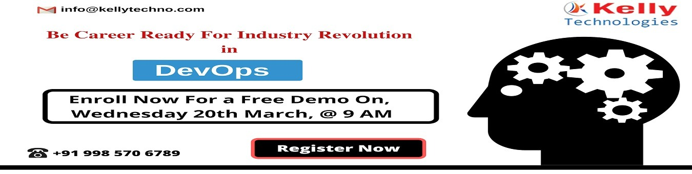 Must Attend Free DevOps Demo Session By Experts At Kelly Technologies