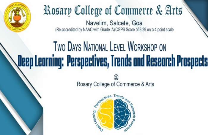 Two Days National level workshop on Deep learning: Perspectives, Trends and Research Prospects
